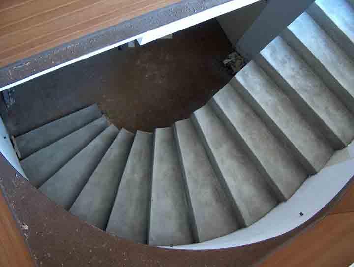 Betontreppe Innen stuwe betontreppe treppen rohbau