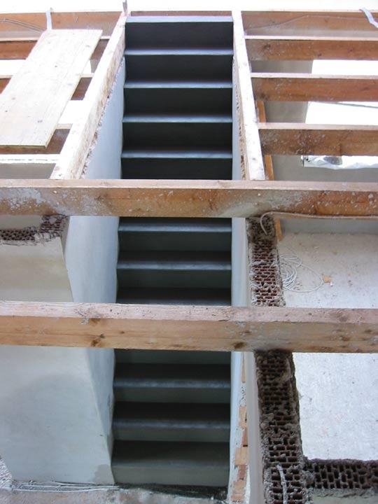 Präferenz Stuwe Betontreppe: Treppen Rohbau TW79