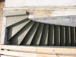 stuwe betontreppe treppen rohbau. Black Bedroom Furniture Sets. Home Design Ideas